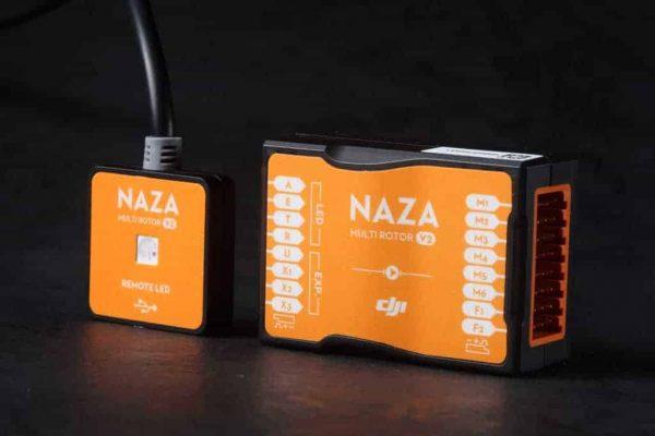 DJI Naza-M V2 multirotor flight-control system with GPS