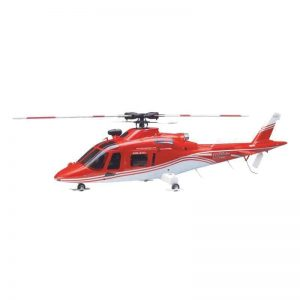 Agusta Fuselage Red for Mini Titan E325 - (3876)