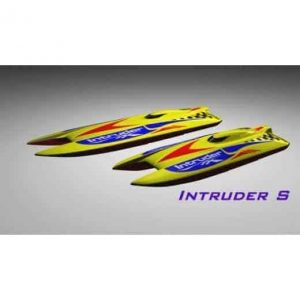 H&M Intruder S - White (hull only)