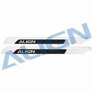 (H55001) - Carbon Fiber Main Blades 520mm T-Rex 550