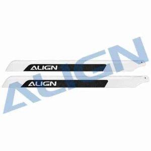 (H55001) - Carbon Fiber Main Blades 520mm T-Rex 550