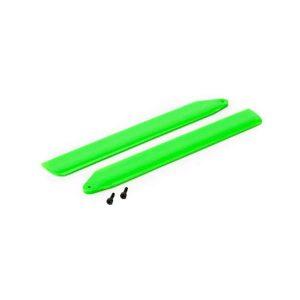 (BLH3716GR) - Hi-Performance Main Rotor Blade Set, Green: 130 X
