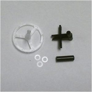 (BLH2717) - Lower Rotor Head, Outer Shaft/Gear, Washers (3)