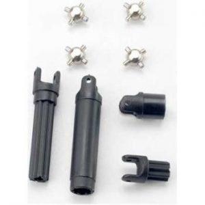 (TRX-7056) - Half shafts, center front/rear - 1/16 E-Revo