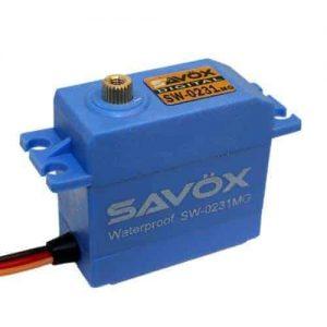 SAVOX SW-0231MG Digital waterproof servo 15Kg (Metal gear)