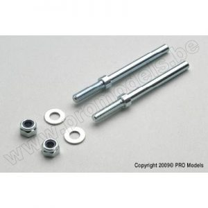 Landing gear axle Ø4mm (2pcs)