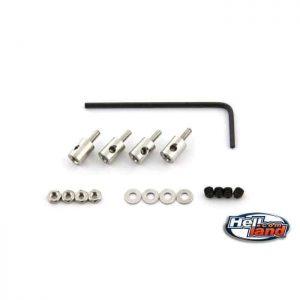 Adjustable pushrod stopppers M2 (4 pcs)