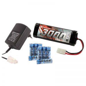 Elektro Starter Kit (Peakcharger, Stickpack, Senderbatterie)