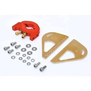 RC Boat Fiberglass 19mm*44mm 380 Motor Mount with Water Cooling