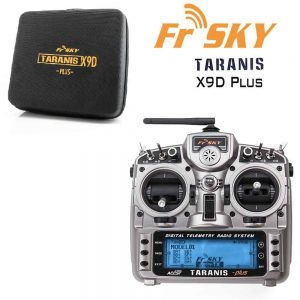 FrSky Taranis X9D Plus (FCC) 2.4GHz ACCST Radio w/ zipper case