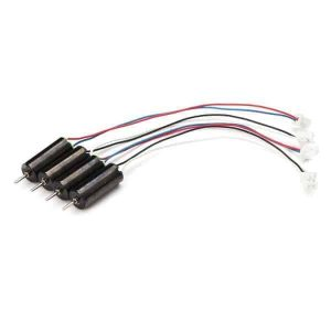 4x Racerstar 615 6x15mm 59000RPM Coreless Motor for Tiny Whoop/Inductrix (BLACK)